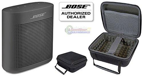 Bose SoundLink Color II Bluetooth Speaker, Soft Black, with Portable Hardshell Travel Case by Bose (Image #1)
