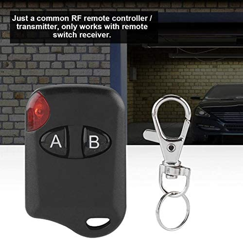 RF Learning Remote Control Switch Transmitter 433MHz Cat Eye Wireless Matal Transmitter Learning Code Remote Control