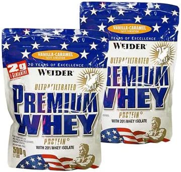 Weider Premium Whey Protein ( 2 x 500g = 1000 g), Banane