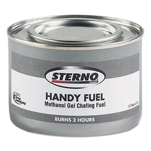 STERNO STE20102 Handy Fuel Methanol Gel Chafing Fuel, 189...