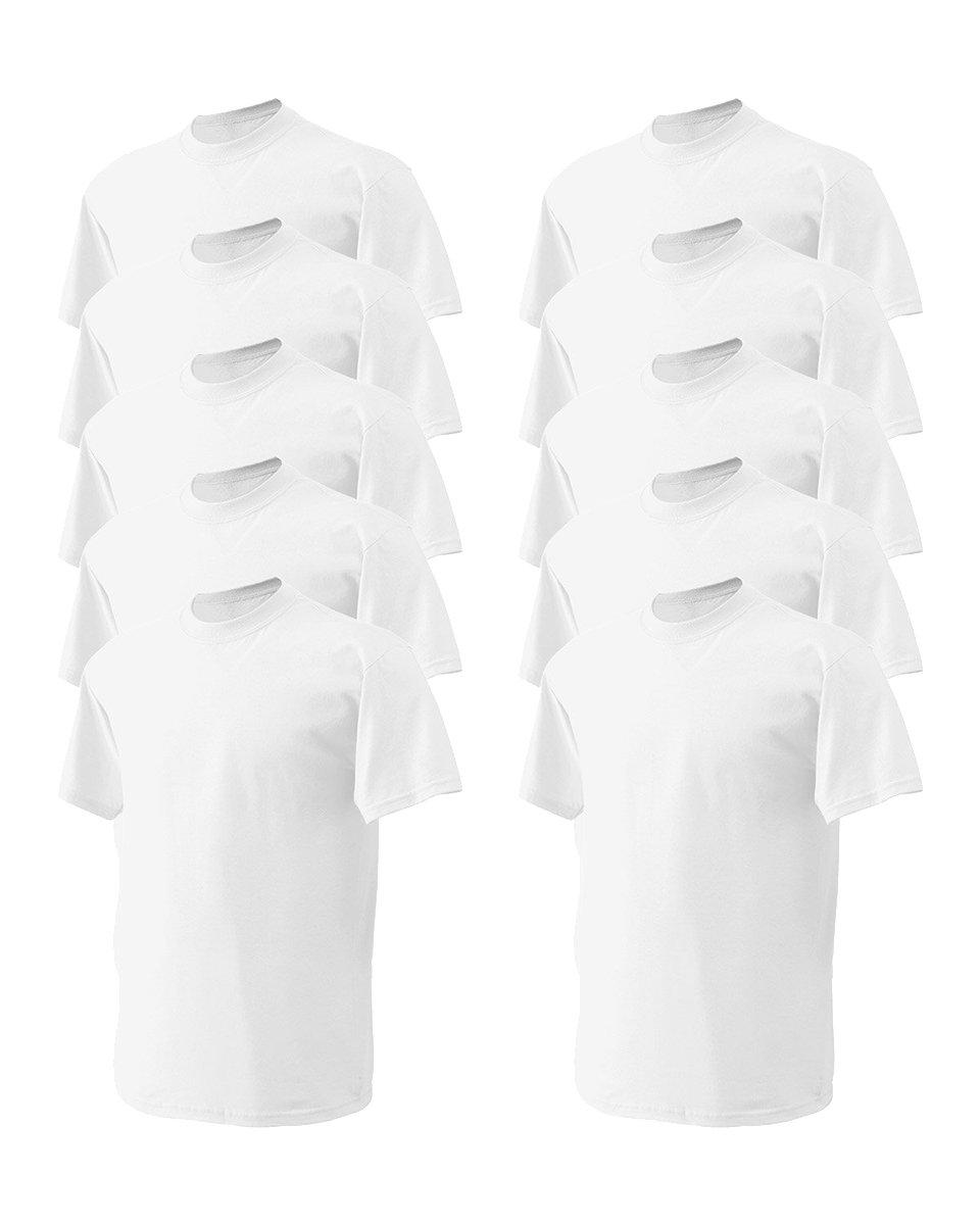 Gildan SHIRT メンズ B01FYEBJRY XXXX-Large|ホワイト ホワイト XXXX-Large