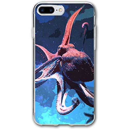 Undersea Octopus Resistant Cover Case Compatible iPhone 7 Plus iPhone 6 Plus 5.5IN