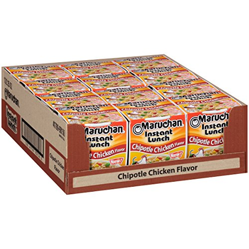 Maruchan Instant Lunch Chipotle Chicken, 2.25 Oz, Pack of 12