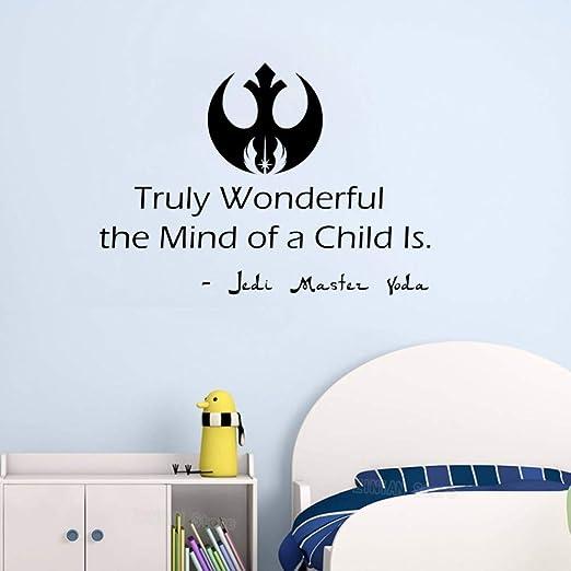 Star Wars Tatuajes de Pared Cotizaciones de Vinilo Pegatina Yoda ...