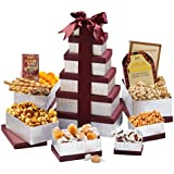 Broadway Basketeers Congratulations Birthday Gift Tower