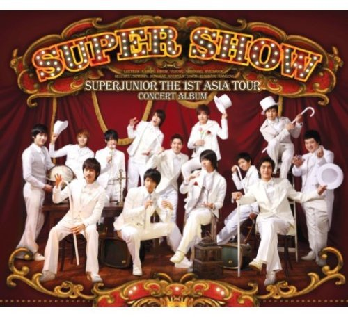 CD : Super Junior - Live: Super Show (Asia - Import, 2 Disc)