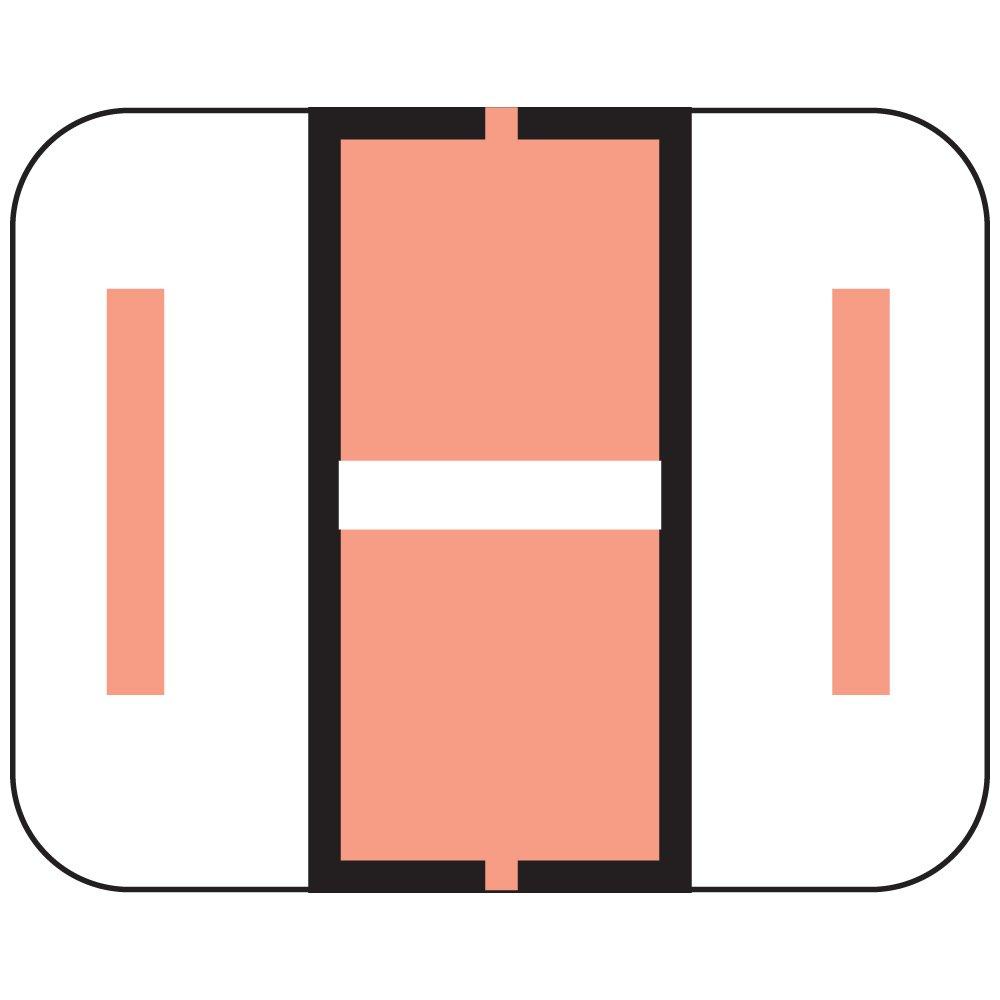 TAB COMPATIBLE TPAM-I 1838 Permanent Color Code Label, Alphabet,I, 1 1/4'' x 1'', Pink (Pack of 500)