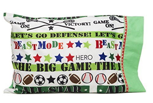 Personalize your BEASTMODE pillowcase - Cool gifts for Boys and Girls - Perfect for Summer Camp, Get Well Soon and My first Pillowcase