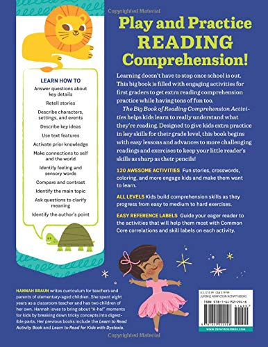 Amazon com: The Big Book of Reading Comprehension Activities