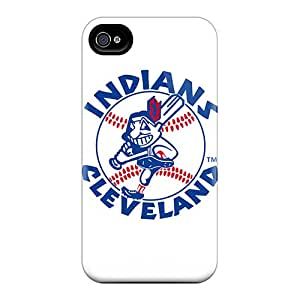 Scratch Protection Hard Cell-phone Cases For Iphone 6 (MGI13401ensz) Customized Colorful Cleveland Indians Skin