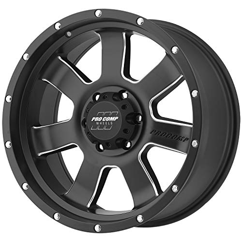 Pro Comp Wheels 5139-2983 Xtreme Alloys Series 5139 Satin Black Finish Size 20x9 Bolt Pattern 6x5mm Back Space 4.75 in. Offset 0 Max Load 2200 Xtreme Alloys Series 5139 Satin Black Finish ()