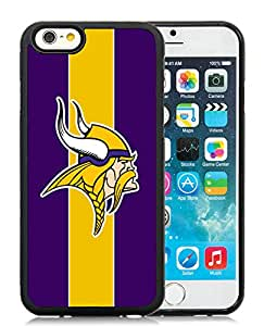 DIY Custom Phone Case For iPhone 6 Minnesota Vikings 26 Black Phone Case For iPhone 6 4.7 Inch Cover Case