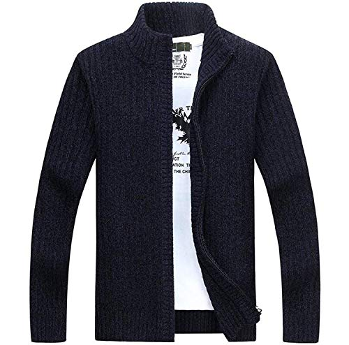 Dunkelblau Hiver Cardigan Pull Hommes C Automne Betrothales wFOqw
