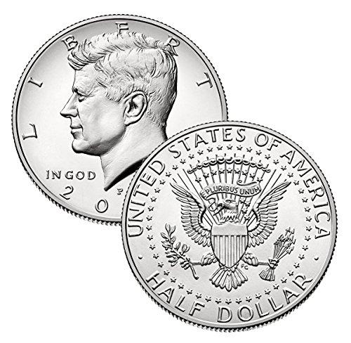 (2015 P, D Kennedy Half Dollar 2 Coin Set Uncirculated)