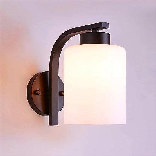 Pared de Interior de Lámpara JJZHG LED Aplique Pared Lámpara eBodCx