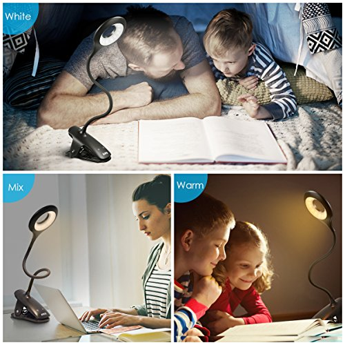 Case of 144 Packs, AMIR Clip Book Light, LED Reading Light with Touch Switch by AMIR (Image #2)