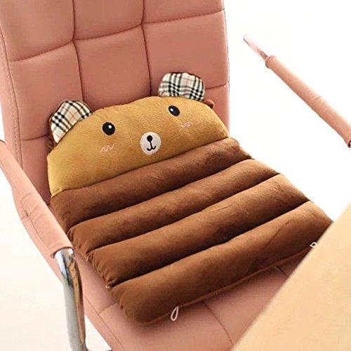 FidgetGear Soft Plush Kids Cartoon Pillow Children Chair Toddler Nap Pad Seat Cushion RollBear from FidgetGear