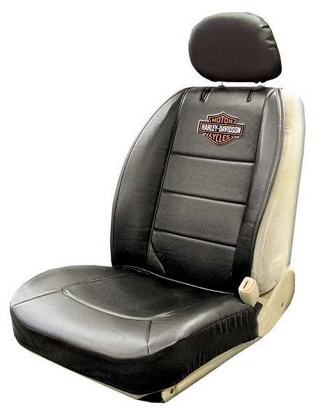 Harley Davidson Covers >> Harley Davidson Seat Cover Black Bar Shield Logo Sideless Single P8589