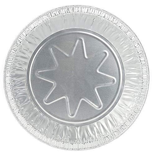 Pactiv 8 Inch Outer Rim Disposable Aluminum Foil Tart/Pie Pan 1.25