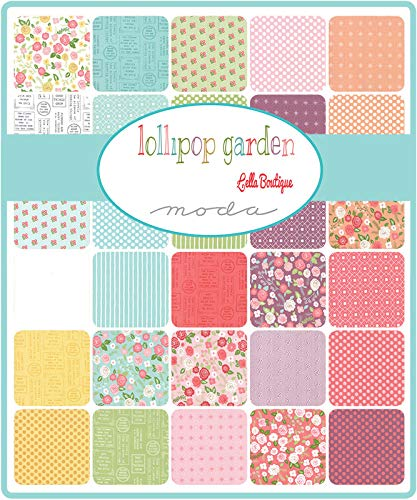 Lollipop Garden 32 Fat Quarter Bundle by Lella Boutique for Moda Fabrics by Moda Fabrics (Image #1)