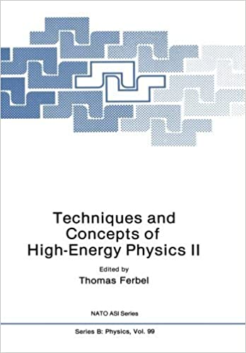 Book Techniques and Concepts of High-Energy Physics Ii: 2 (Nato Science Series B:) by Thomas Ferbel (1983-09-01)