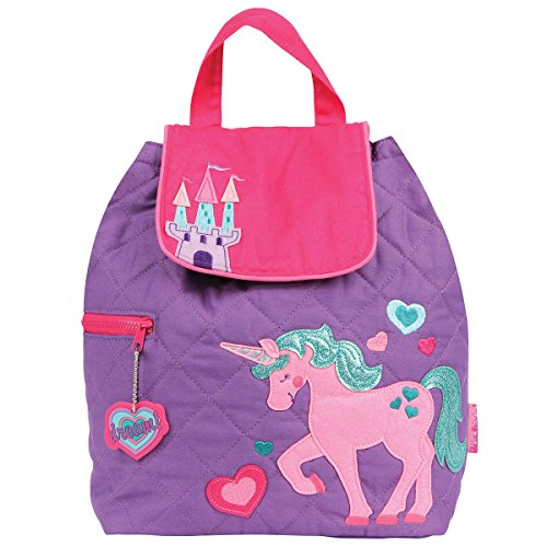 Stephen Joseph Quilted Backpack, Unicorn (Backpack Quilted Girls)