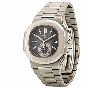 Patek Philippe Nautilus swiss-automatic mens Watch 5980/1A-001 (Certified Pre-owned)