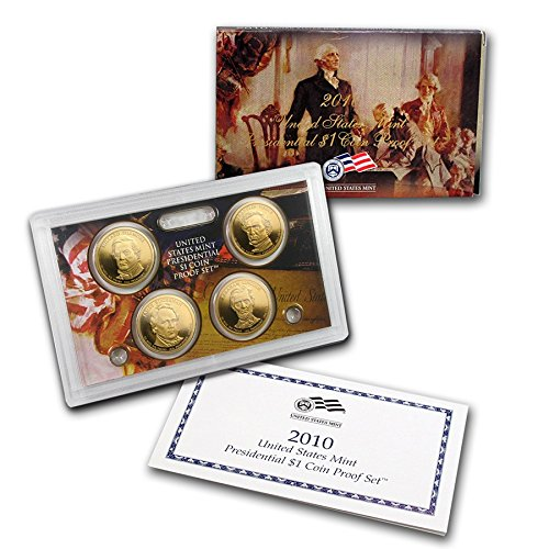 2010 S US MINT Presidential Dollar Proof Set Comes in original Packaging From the US Mint Proof