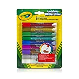 Crayola Washable Glitter Glue, Assorted Colors 9 ea