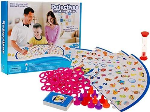 BSD Juego de Mesa Juego de Tablero - Detectives Buscando: Amazon.es: Juguetes y juegos