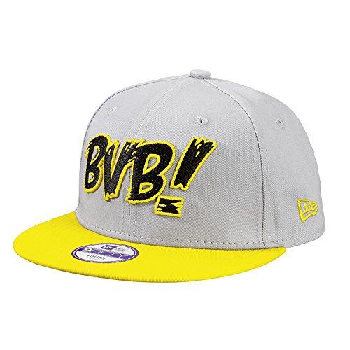 BVB!-Kappe für Kinder 9Fifty (grau-gelb) one size