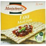 Manischewitz Matzo Cracker, Egg, 12 Ounce by Manischewitz