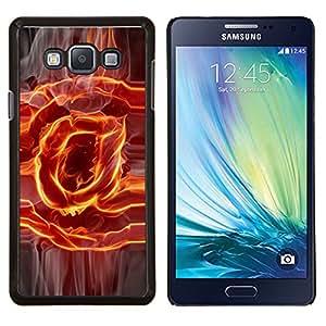 """Be-Star Único Patrón Plástico Duro Fundas Cover Cubre Hard Case Cover Para Samsung Galaxy A7 / SM-A700 ( Flaming @ En sesión"""" )"""