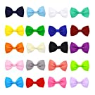 "ICObuty 20 Pcs 2.75 "" Girls Baby Girls Newborn Hair Bows Clips for Baby Toddler Newborn"