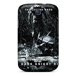 Cute Appearance Cover/tpu ISn2780qSuE The Dark Knight Rises Case For Galaxy S3