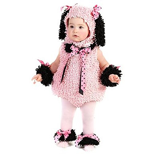 Pinkie Poodle Costume - Baby 12-18 -