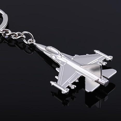 F-16 Fighter Jet Keychain