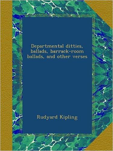 Englanninkielinen kirja lataa pdf-muodossa Departmental ditties, ballads, barrack-room ballads, and other verses PDF
