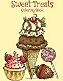 Sweet Treats: A Coloring Book
