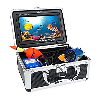 BOBLOV 7 Inch 1000TVL 30m IR Fish Finder Underwater Video Fishing Camera Equipment by BOBLOV