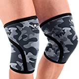 Best Knee Compression Sleeve For Power Liftings - Mava Sports Pair of Knee Compression Sleeves Neoprene Review