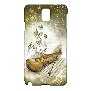 Samsung Galaxy Note 3 N9005 Phone Case Guitar Musical Instrument Pattern Cover Case Waterproof 3D Design Full Protection for Samsung Galaxy Note 3 N9005 Cover Shell