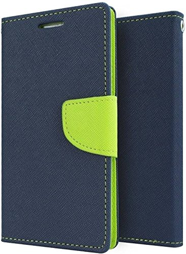 new arrival 0dc82 050b3 Mobilekabazaar Gionee P5 Mini Blue Color Flip Cover: Amazon.in ...