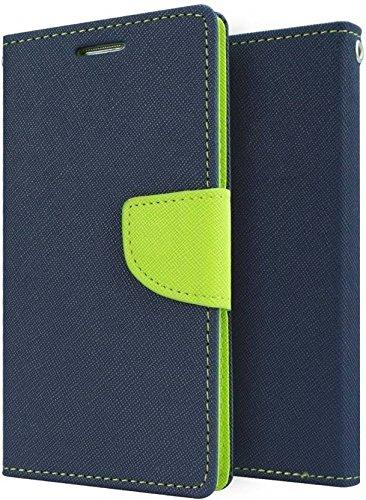 new arrival cf7d2 2346c Mobilekabazaar Gionee P5 Mini Blue Color Flip Cover: Amazon.in ...