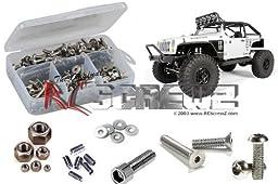 RC SCREWZ AXI008 SS Screw Kit AXI SCX10 Jeep Wrangler G6