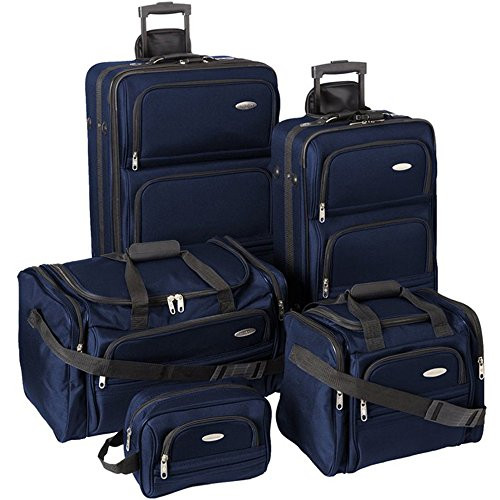 Samsonite Luggage Set - 5-Piece Nested Set, Navy Blue by Samsonite
