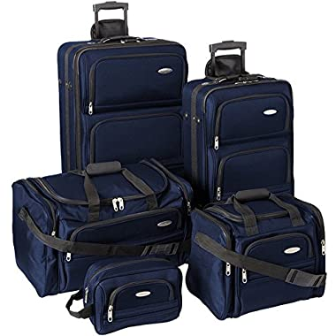 Samsonite Luggage Set - Five Piece Nested Set (One size, Navy)