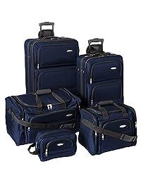 Samsonite 5 Piece Nested Luggage Set (Navy) - OPEN BOX