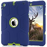 chevron ipad protective case - iPad Mini Case, Anna Shop 3in1 Heavy Duty Rugged Hybrid Case Pc+Silicone Shock-Absorption Full Body Protective High Impact Defender Combo Hard Soft Cover For iPad Mini/ iPad Mini 2/ iPad Mini 3