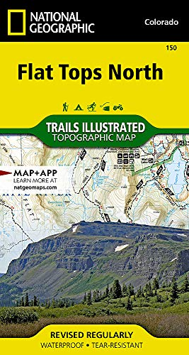 (Flat Tops North (National Geographic Trails Illustrated Map) )